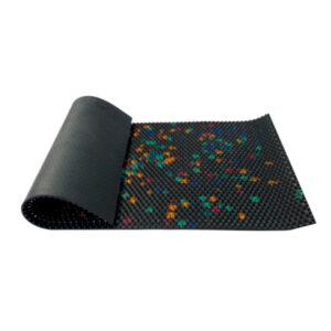 Mata z kolcami Lyapko - limitowany kolor czarny