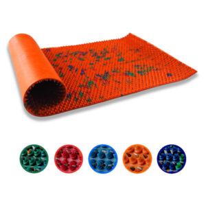 lyapko mata akupresurowa z kolcami duża kolory akumata