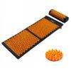mata do akupresury z poduszką 4fizjo pomarańczowa akumata long